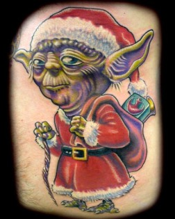 Santa-Yoda