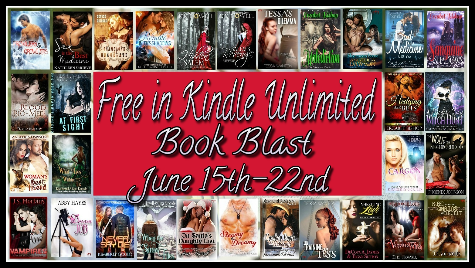 Free to #read in #KU Book Blast! Stuff your eReader with 50